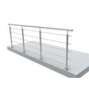 Stainless railing sets