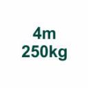 Set 4m/250kg AL