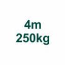 Szett 4m/250kg AL