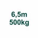 Szett 6,5m/500kg