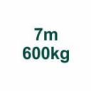 Szett 7m/600kg