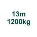 Szett 13m/1200kg