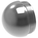 Félgömb alakú végzáró