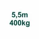 Set 5,5m/400kg