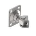 Adjustable hinges with plate for screwing