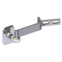 Adjustable out of axis hinges