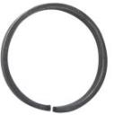 Element spiralny typu O