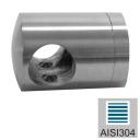 Držiak výplne-spojka AISI304, 40x40/d10