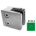 Glass clamp, 8,76mm D42,4