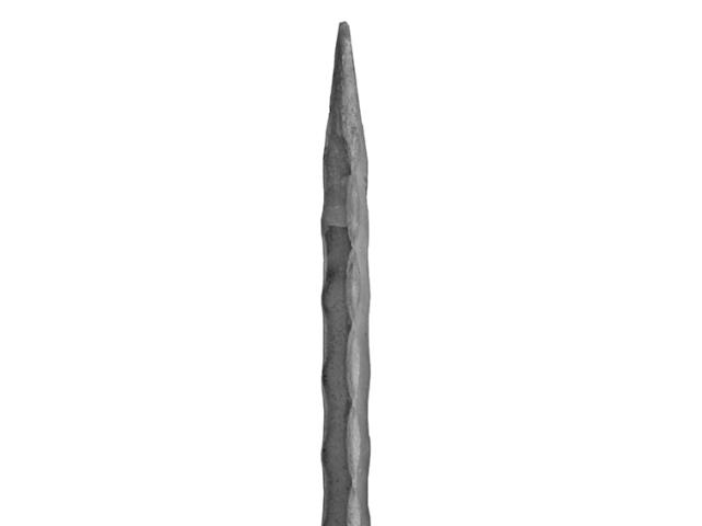 Stab mit Spitze h150, P/035-12x12mm