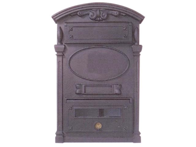 Poštovní schránka lítinova 500x335x95mm, cast iron