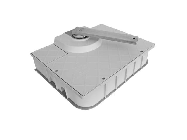 Osazovací skřiňka bez zámku pro FROG-J 412x325x85m