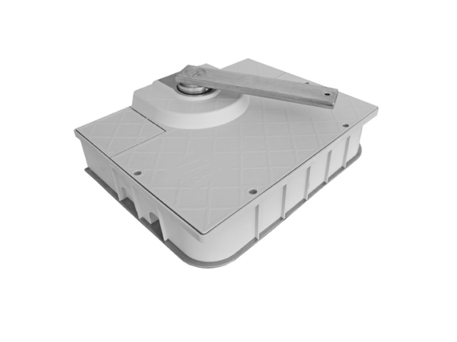 Osadzovacia skrinka bez zámku pre FROG-J 412x325x8