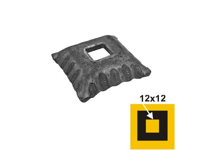 Rosette 48x48, 13x13, h13mm