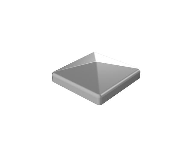 Záslepka čtvercová pro sloupek 30x30mm, AISI 304