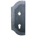 Štítok bránový zdobený ľavý 265x105, t3mm, 85mm