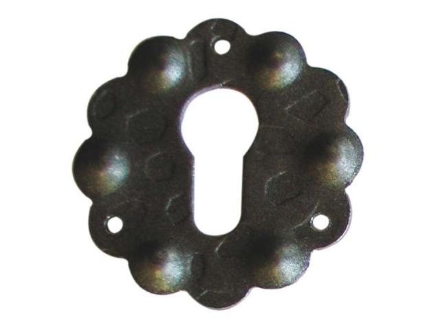 Štítek kovaný,oplocení,dveřní kováni D65, t2mm