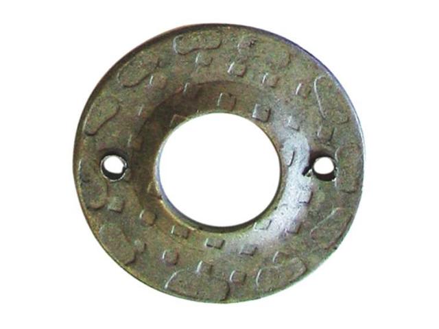Štítek kovaný,oplocení,dveřní kováni D50, t2, d20m