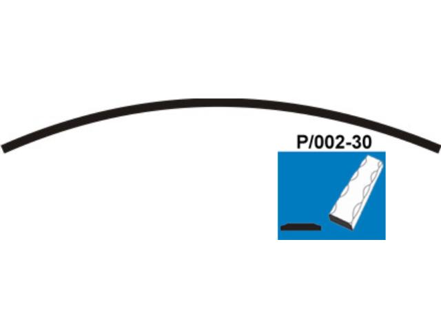 Predhnutý oblúk P/002-30x5, P200, L2950mm