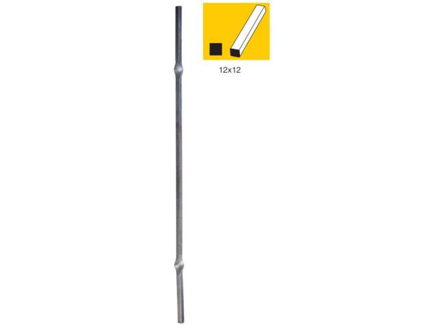 Zierstab mit 2x Element 12x12, h1000mm