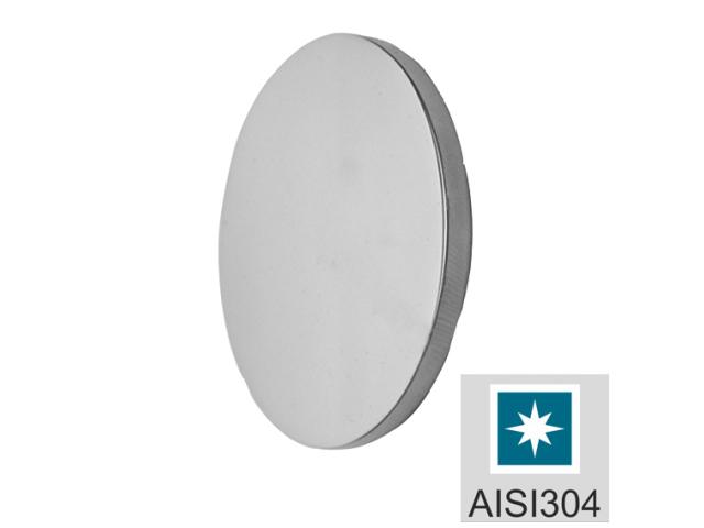 Rozsdamentes korong-polírozott AISI304, D50/t4mm