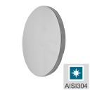 Rosette - flange, polished AISI304, D50/t4mm