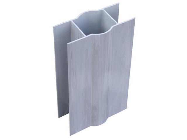 Floor plate holder PVC D48mm, L200mm