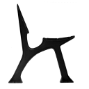 Lavička liatinová-rameno h665, b515mm, cast iron,
