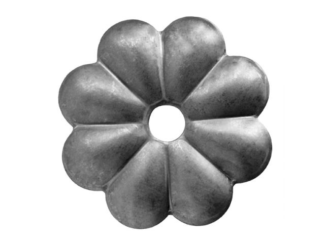 Květ kovaný D60, t2,5mm