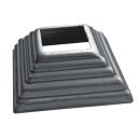 Rosette 80x80, 32x32, h30, t1mm