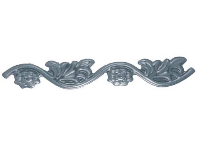 Rozeta kovaná,květ list, plot,brána,zábradlí 65x41