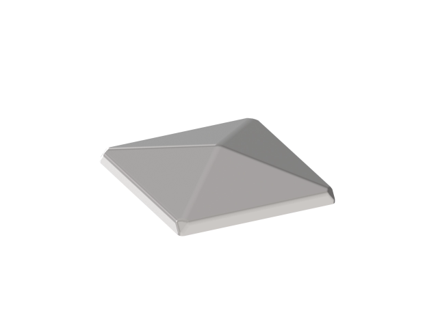 End Cap for Post 100x100mm, AISI 304, K320