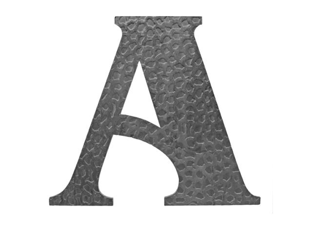"""Písmeno kované """"A"""" h170mm"""