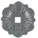 Rosette dekorativ D103, 24x24, t3,7mm