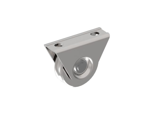 Pulley wheel - set -U Zn, D60mm