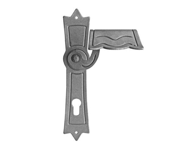 Štítek kovaný,oplocení,dveřní kováni h260mm