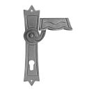 Kľúčka so štítkom pravá bez PÚ h260mm