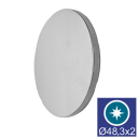 Záslepka - lesk AISI304, D48,3x2/t4mm