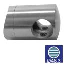 Držák výplně -spojka AISI304, d12/D48,3x2mm
