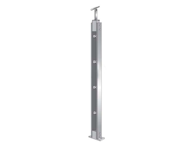 Stainless steel pole