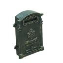 Poštová schránka liatinová 270x110, h390mm, cast i