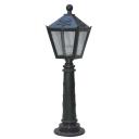 Lampa stlpová liatinová dekoratívna 230x230, h850m