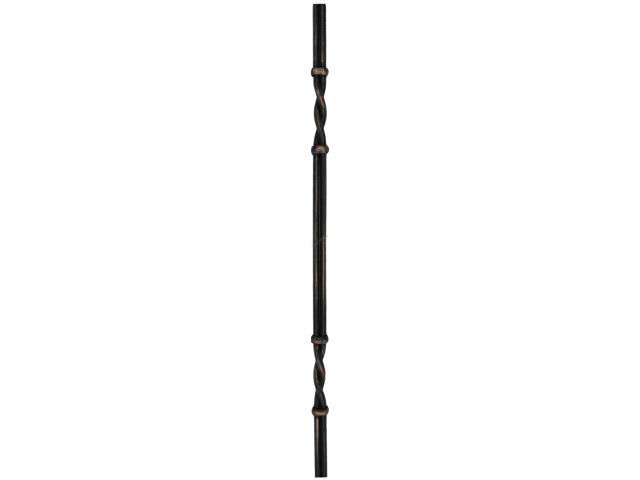 Tyč kovaná 2xD12, h900mm