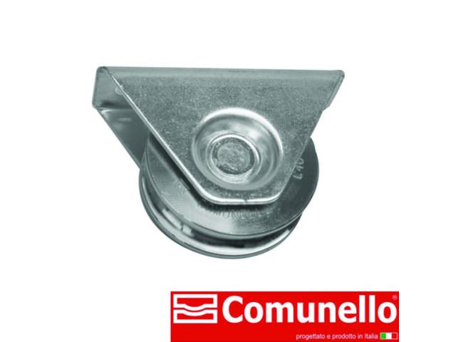 Kladka pojazdu-komplet - U, COMUNELLO, Zn, D80, H8