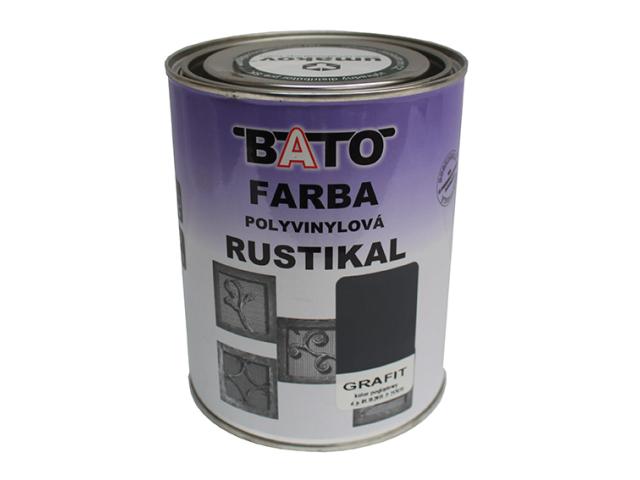 Barva kovarska RUSTICAL, grafit, 1,0kg (0,8L)
