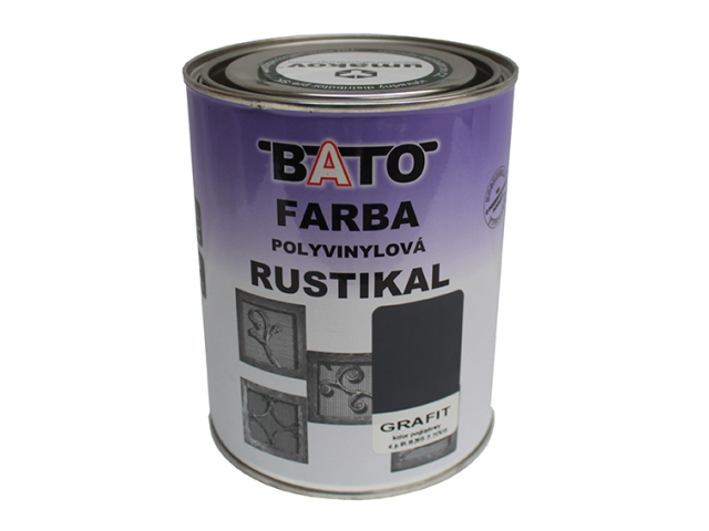 Color of zinc RUSTICAL, grafit, 1,0kg (0,8L)