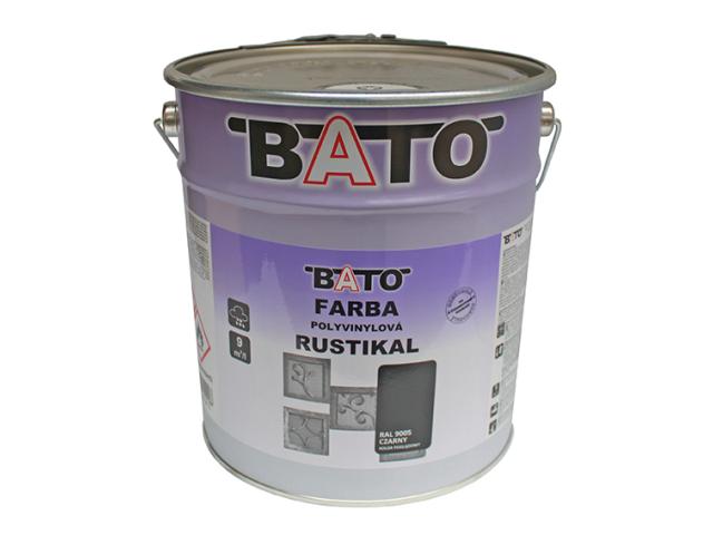 Color of zinc RUSTICAL, black, 6,3kg (5L)