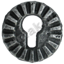 Štítok zámkový-fab cast iron, D68mm