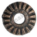 Štítok zámkový-kľučka cast iron, D68mm