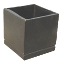 Kvetináč liatinový 120x120x120mm, cast iron